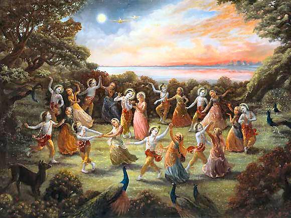 Vivência em Danças Devocionais Indianas - Danças Circulares
